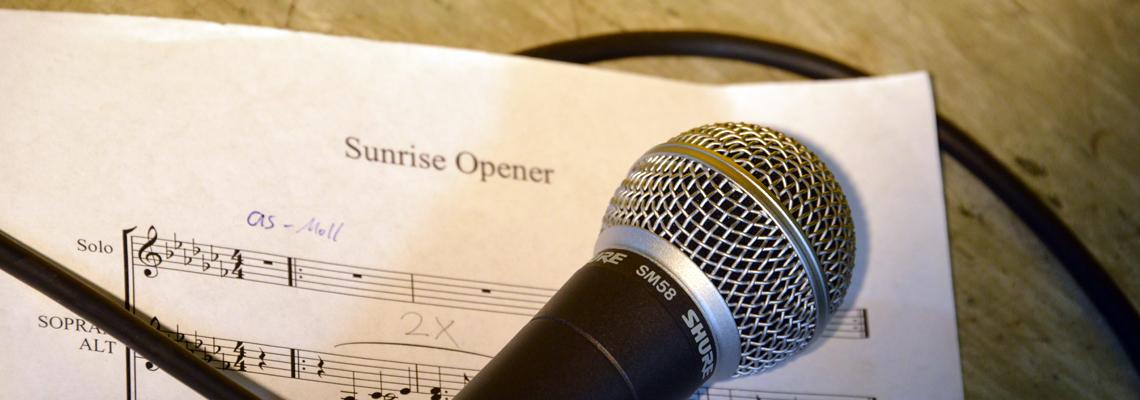 Sunrise Chor Opener