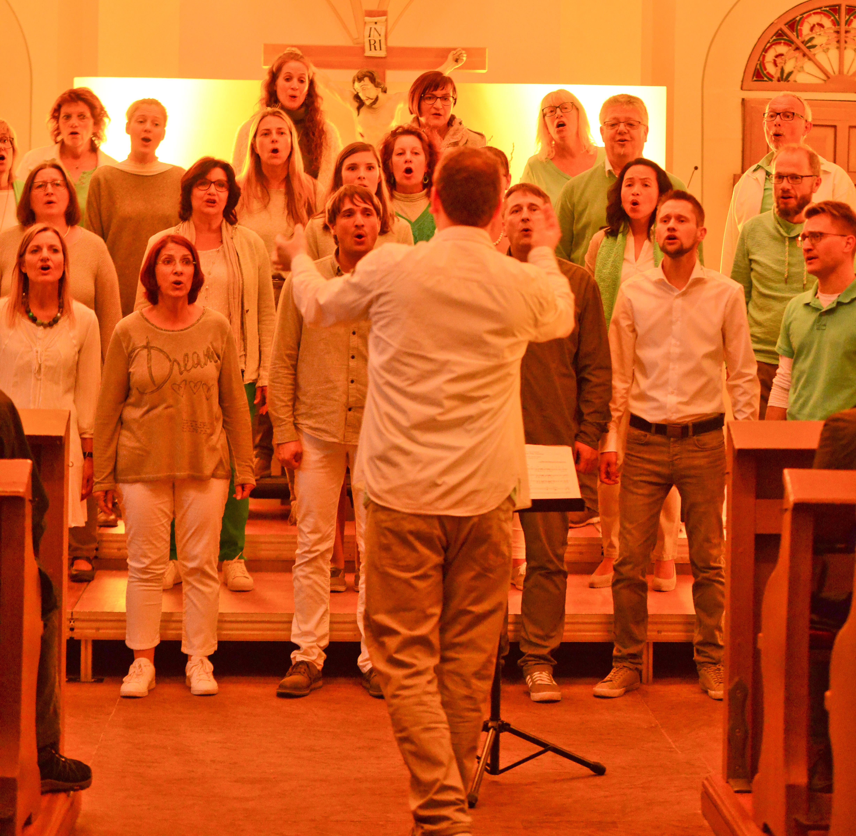 Sunrise_Chor_Martin_Luther_Kirche